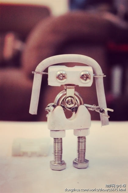 DIY手工金属机器人