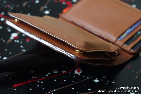 竖款小钱包
