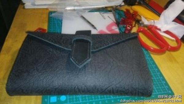 做个黑色手拿包试试