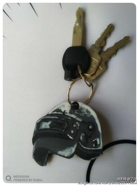 三级头和平底锅钥匙扣