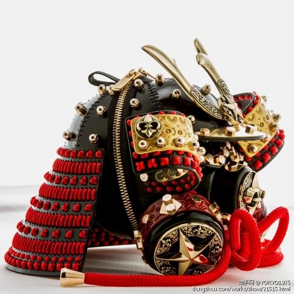 蒸汽朋克武士头盔钥匙包进阶版