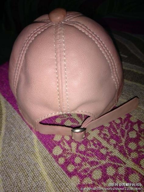 手工牛皮棒球帽