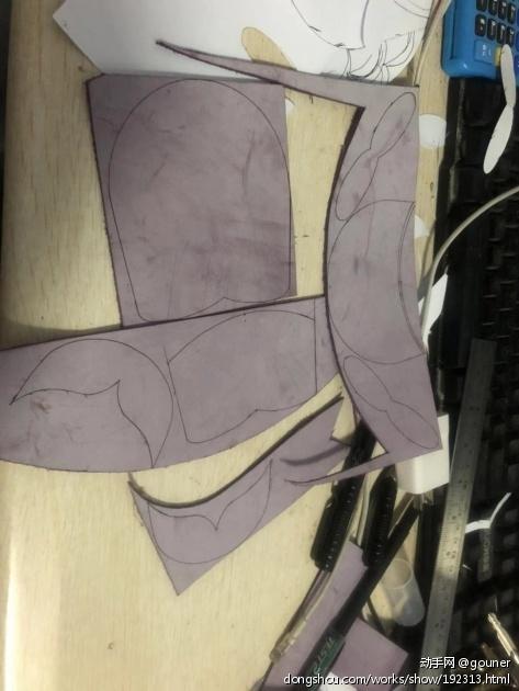 紫色雾蜡皮小鱼钥匙包