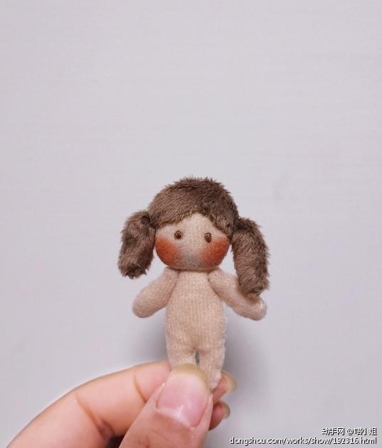 手工小娃娃